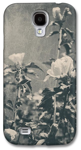 Textured Floral Galaxy S4 Cases - This Glorious Sadness Galaxy S4 Case by Laurie Search