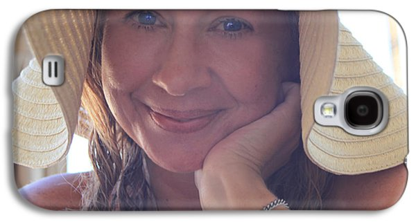 Self Shot Photographs Galaxy S4 Cases - This Smile Was For You Galaxy S4 Case by Laurie Search