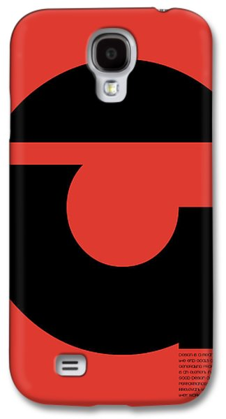 Forms Digital Art Galaxy S4 Cases - Thomas. F Schutte Quote Poster Galaxy S4 Case by Naxart Studio