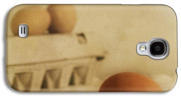 Three Eggs And A Egg Box Galaxy S4 Case by Priska Wettstein