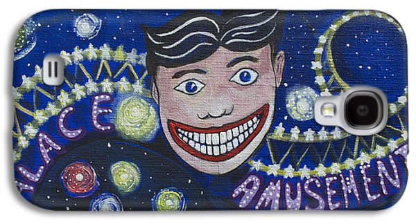 Asbury Park Casino Paintings Galaxy S4 Cases - Tillies Brite Lights Galaxy S4 Case by Patricia Arroyo