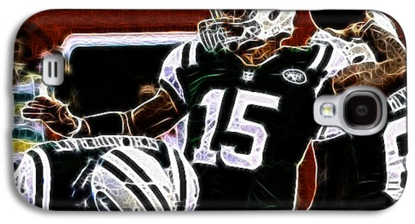 Tim Tebow Galaxy S4 Cases - Tim Tebow  -  NY Jets Quarterback Galaxy S4 Case by Paul Ward