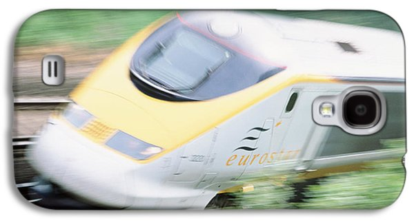 Buy Galaxy S4 Cases - Time-exposure Image Of A Channel Tunnel Train Galaxy S4 Case by Jeremy Walker
