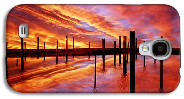 Dreamscape Galaxy S4 Cases - Time Stands Still Galaxy S4 Case by Photodream Art