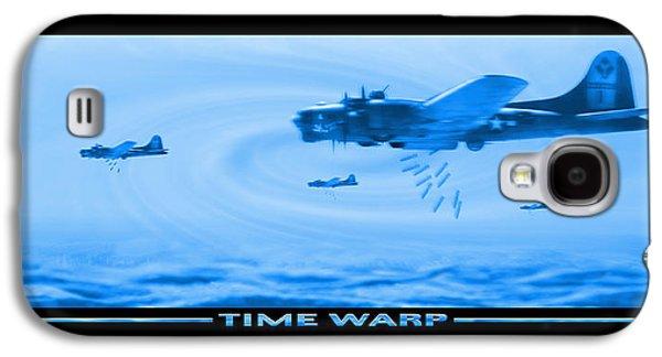 Warbird Galaxy S4 Cases - Time Warp Galaxy S4 Case by Mike McGlothlen