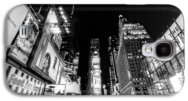 Times Square Digital Art Galaxy S4 Cases - Times Square Dont Shine as Bright as You Galaxy S4 Case by Ariane Moshayedi