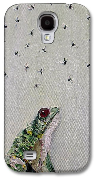 Flying Frog Galaxy S4 Cases - To Save Their Small Lives From Surrounding Death Galaxy S4 Case by Fabrizio Cassetta