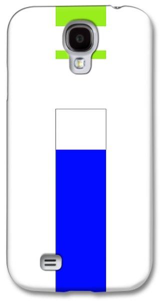 Forms Digital Art Galaxy S4 Cases - Tobu Galaxy S4 Case by Naxart Studio