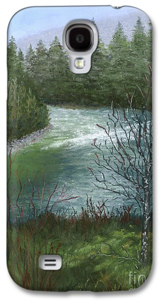Waterscape Pastels Galaxy S4 Cases - Tofino River Galaxy S4 Case by Ginny Neece