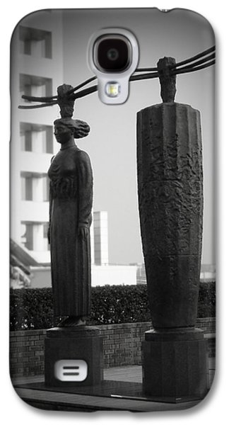 City Streets Galaxy S4 Cases - Tokyo City Sculptures Galaxy S4 Case by Naxart Studio
