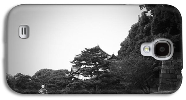City Streets Galaxy S4 Cases - Tokyo Imperial Palace Galaxy S4 Case by Naxart Studio
