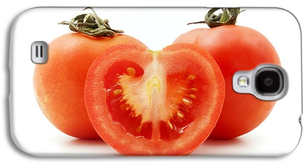 Cut Outs Galaxy S4 Cases - Tomatoes Galaxy S4 Case by Fabrizio Troiani