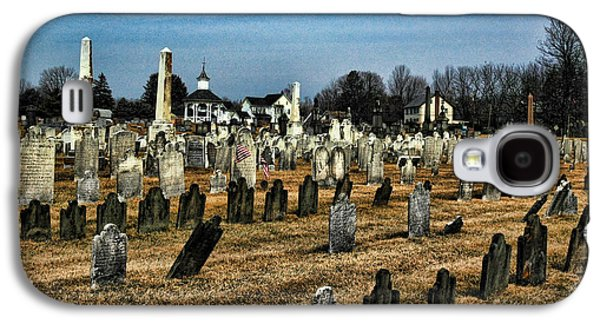 Final Resting Place Galaxy S4 Cases - Tombstones Galaxy S4 Case by Paul Ward