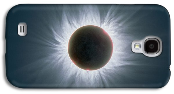 Solar Eclipse Galaxy S4 Cases - Total Solar Eclipse With Corona Galaxy S4 Case by Dr Fred Espenak
