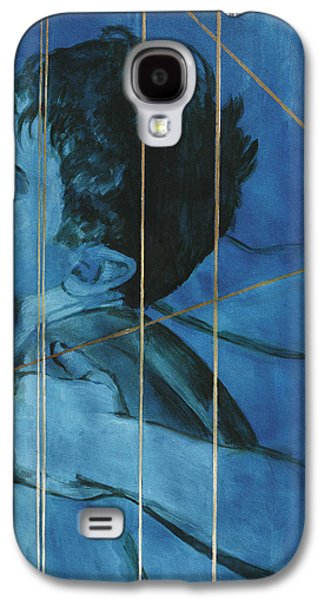 Fantasy Drawings Galaxy S4 Cases - Touch Galaxy S4 Case by Rene Capone