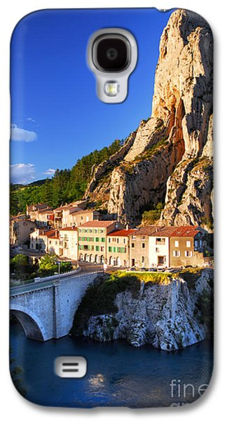 Setting Sun Galaxy S4 Cases - Town of Sisteron in Provence France Galaxy S4 Case by Elena Elisseeva
