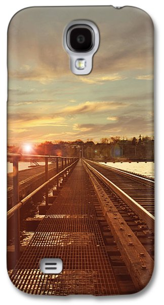 Appleton Photographs Galaxy S4 Cases - Tracks to Greatness Galaxy S4 Case by Joel Witmeyer