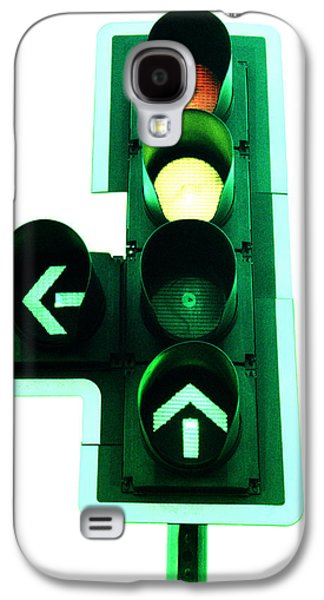 Traffic Control Galaxy S4 Cases - Traffic Lights Galaxy S4 Case by Kevin Curtis