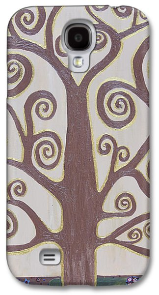 Abstract Nature Galaxy S4 Cases - Tree Of Life Galaxy S4 Case by Angelina Vick
