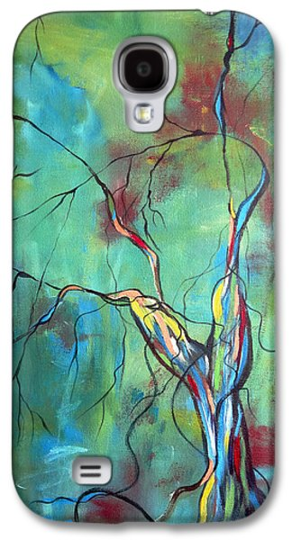 Tree Roots Galaxy S4 Cases - Tree Of Winding Color Galaxy S4 Case by Ruth Palmer