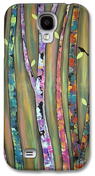 Landscape Acrylic Prints Galaxy S4 Cases - Tree Whistlers Galaxy S4 Case by Karla Gerard