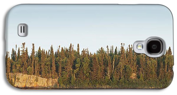 Design Pics - Galaxy S4 Cases - Trees Covering An Island On Lake Galaxy S4 Case by Susan Dykstra