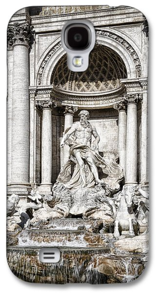 Ancient Galaxy S4 Cases - Trevi Fountain Detail Galaxy S4 Case by Joan Carroll