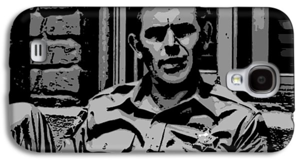 Andy Griffith Show Galaxy S4 Cases - Tribute to Andy Galaxy S4 Case by George Pedro