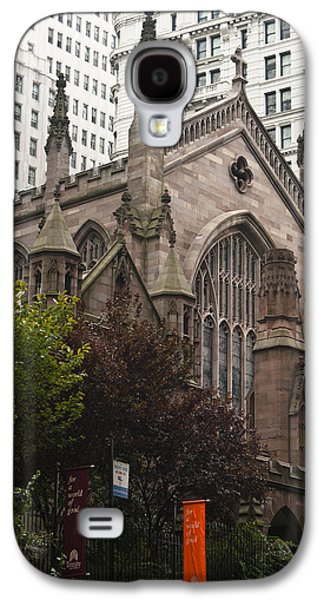 Occupy Galaxy S4 Cases - Trinity Church 2 Galaxy S4 Case by Teresa Mucha
