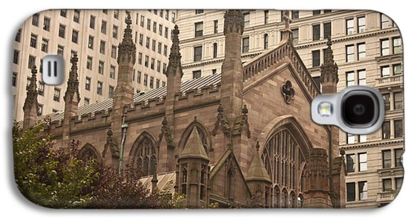 Occupy Galaxy S4 Cases - Trinity Church Galaxy S4 Case by Teresa Mucha