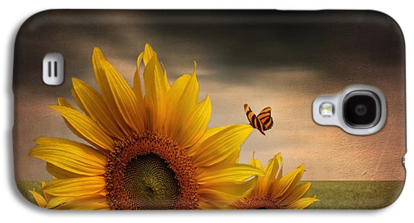 Floral Digital Art Galaxy S4 Cases - Trinity Galaxy S4 Case by Lourry Legarde