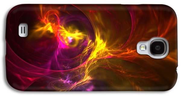 Digital Art Greeting Cards Galaxy S4 Cases - Trip the Light Fantastic Galaxy S4 Case by Lyle Hatch