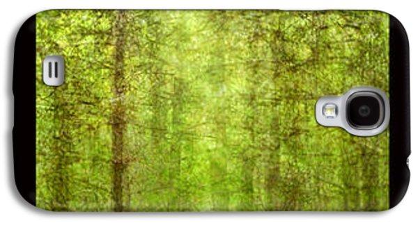 Abstract Landscape Galaxy S4 Cases - Triptico pinares Galaxy S4 Case by Guido Montanes Castillo