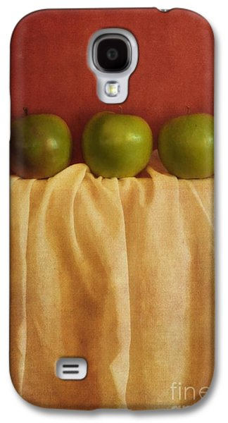 Healthy Galaxy S4 Cases - Trois Pommes Galaxy S4 Case by Priska Wettstein