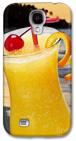 Juice Galaxy S4 Cases - Tropical orange drink Galaxy S4 Case by Elena Elisseeva