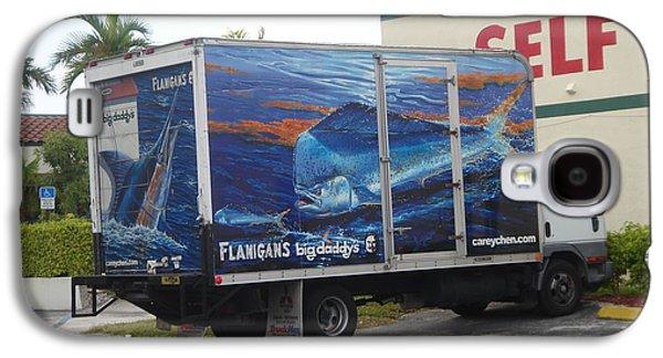 Truck Wraps Galaxy S4 Case by Carey Chen