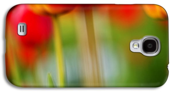 Close Galaxy S4 Cases - Tulips Galaxy S4 Case by Silke Magino