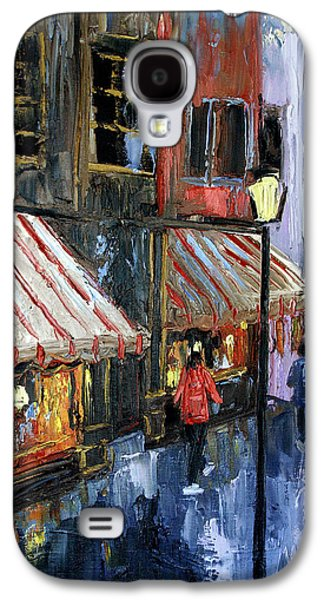 Landscape Acrylic Prints Digital Art Galaxy S4 Cases - Twelve Street And Rine Galaxy S4 Case by Anthony Falbo