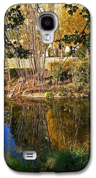 Twiggy Galaxy S4 Cases - Twiggy Reflections Galaxy S4 Case by Pamela Patch