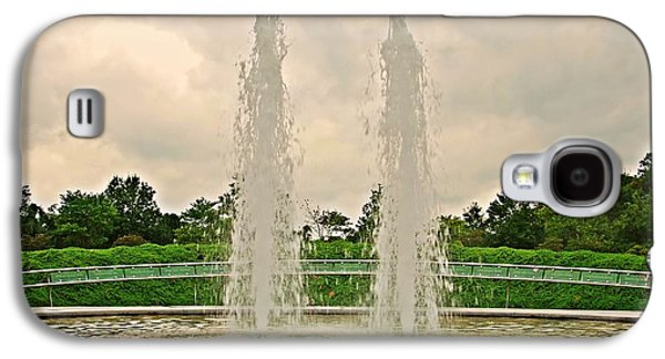 Terrorist Galaxy S4 Cases - Twin Fountains - Garden of Reflection Galaxy S4 Case by Angie Tirado