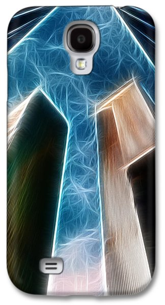 Twin Towers Nyc Galaxy S4 Cases - Twin Towers Galaxy S4 Case by Paul Ward