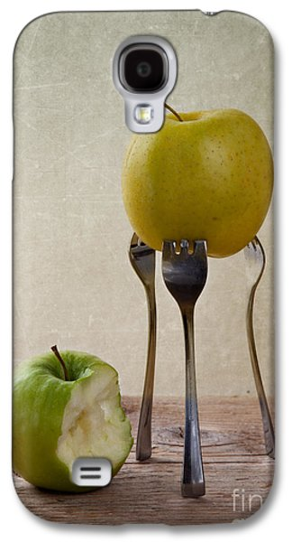 Concept Photographs Galaxy S4 Cases - Two Apples Galaxy S4 Case by Nailia Schwarz