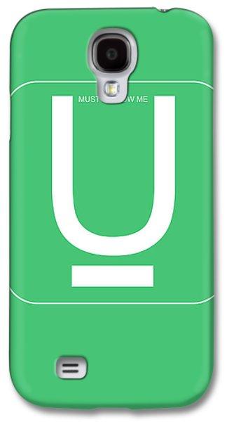Social Galaxy S4 Cases - U Must Follow Me Poster Galaxy S4 Case by Naxart Studio