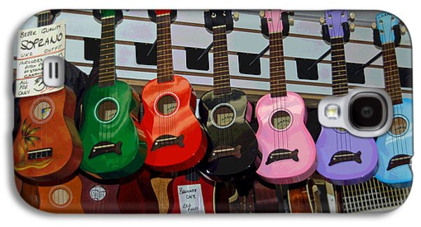 Ukelele Galaxy S4 Cases - Ukeleles For Sale Galaxy S4 Case by Suzanne Gaff
