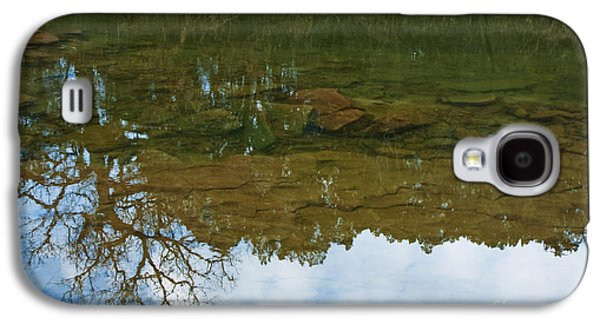Trees Reflecting In Water Galaxy S4 Cases - Underwater Landscape Galaxy S4 Case by Lisa Holmgreen