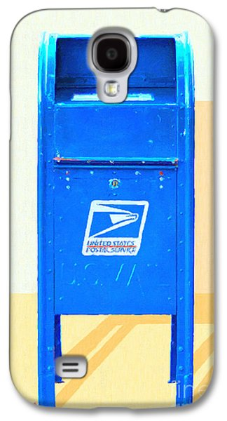 Us Postal Service Galaxy S4 Cases - United States Postal Service Mail Box . Snail Mail Galaxy S4 Case by Wingsdomain Art and Photography