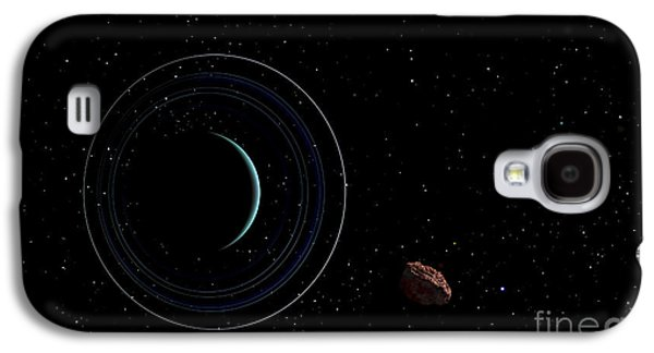 Planetoid Galaxy S4 Cases - Uranus And Most Of Its Nine Major Rings Galaxy S4 Case by Frank Hettick