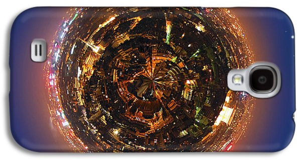Concept Photographs Galaxy S4 Cases - Urban planet Galaxy S4 Case by Elena Elisseeva