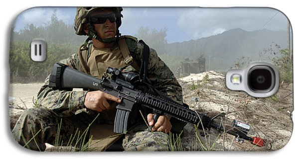 Rpg Galaxy S4 Cases - U.s. Marine Takes Part In An Amphibious Galaxy S4 Case by Stocktrek Images