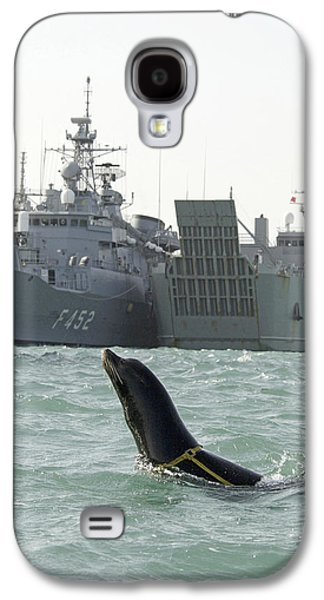 California Sea Lions Galaxy S4 Cases - Us Navy California Sea Lion Galaxy S4 Case by Us Navy